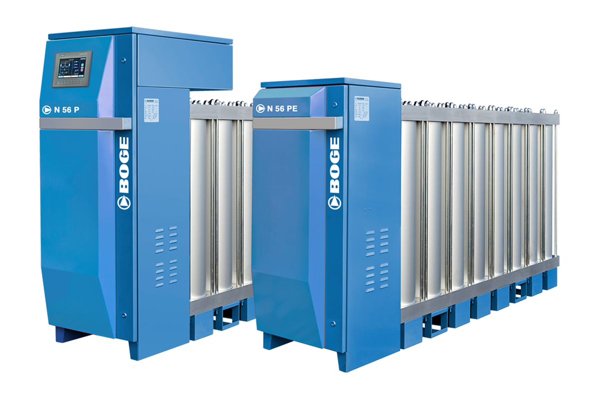 boge n series nitrogen generators deliver high flexibility and expandability using pressure swing adsorption