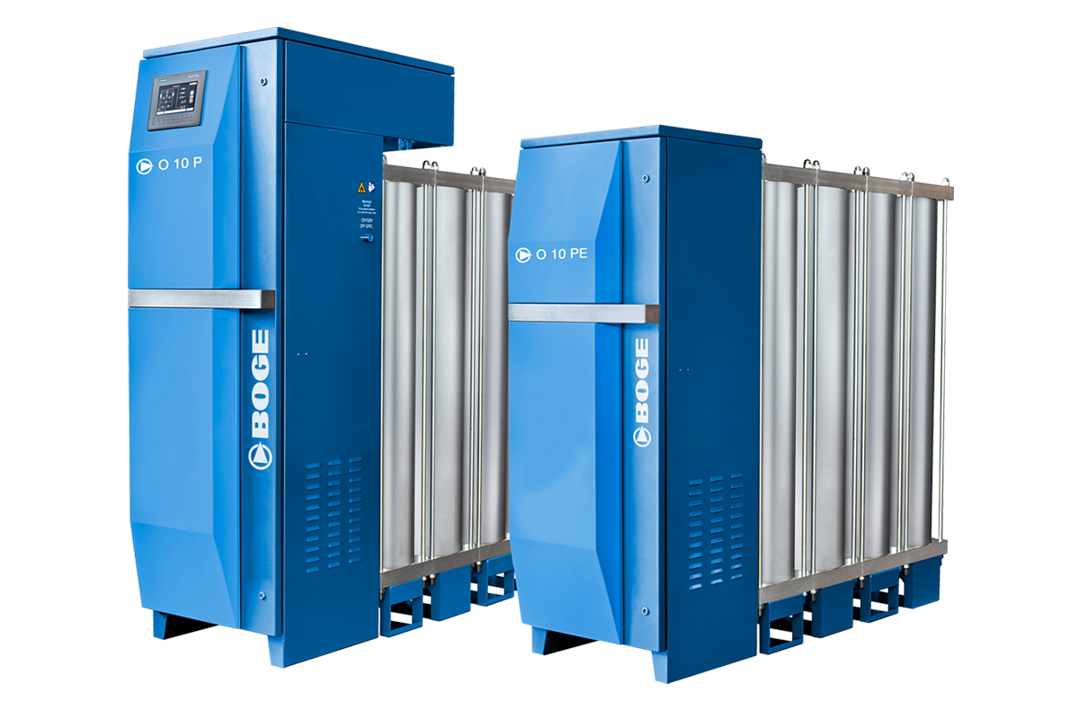 BOGE O Series Oxygen Generators at CRU AIR + GAS