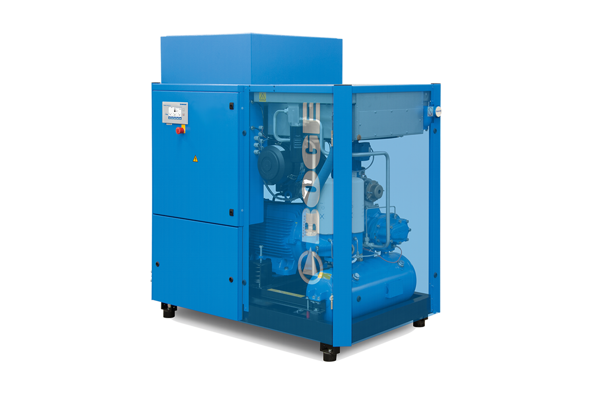 boge s series - sophisticated rotary screw compressor for maximum efficiency