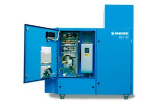 BOGE SLF Series Oil-Flooded Rotary Screw Compressors