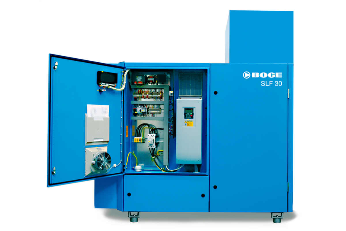 boge slf series - oil-flooded rotary screw compressor for large-scale efficiency