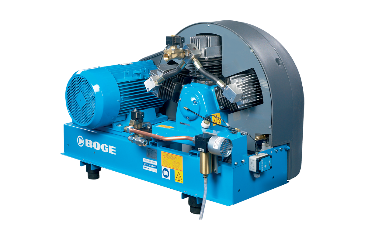 boge srhv booster series with PET compressor optimized for extremely high pressures