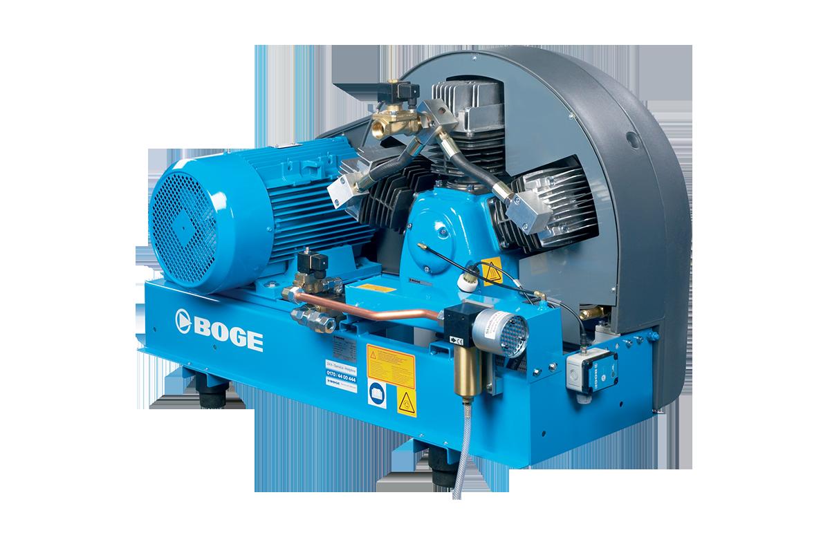 BOGE SRHV Booster Series PET Compressor