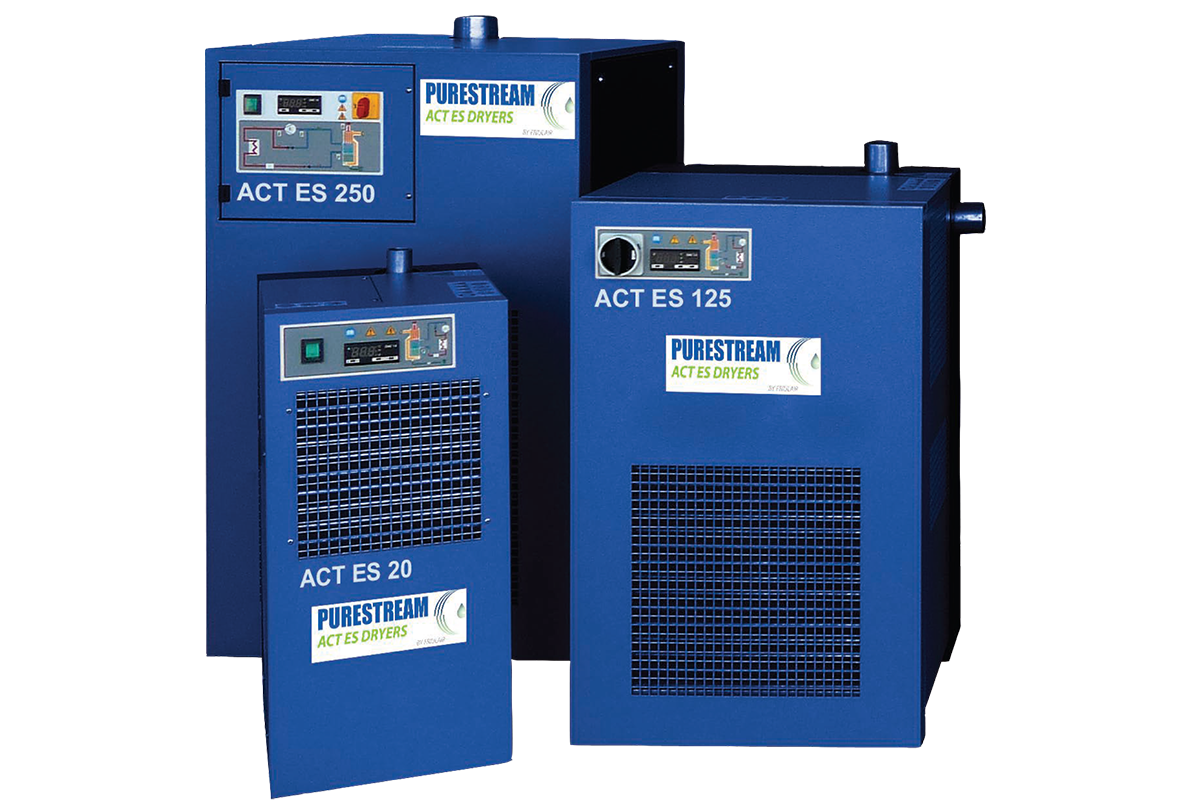 purestream act refrigerated dryer with aluminum cooling technology