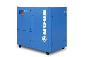 Highly Efficient BOGE S Series Oil-Flooded Rotary Screw Compressors