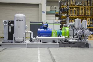 Oil-free Reciprocating Compressors for PET Bottle Blowing