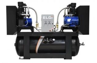 ELGi TSD Series Oil Flooded Reciprocating Compressors