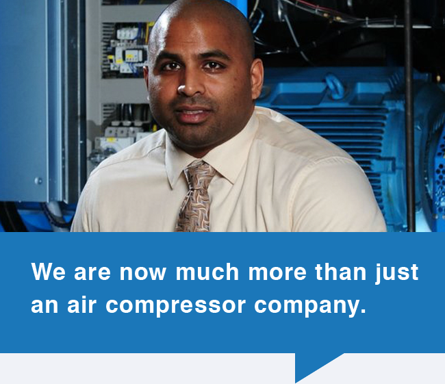 We are no longer just an air compressor company.