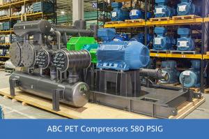 ABC PET Compressors 580 PSIG